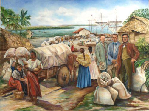 La exportación del cafe