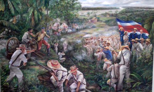 La-Batalla-de-La-Trinidad.-Obra-de-Manuel-Carranza.-Oleo-sobre-lienzo-de-2.22m-x-1.54m.-Coleccion-del-autor