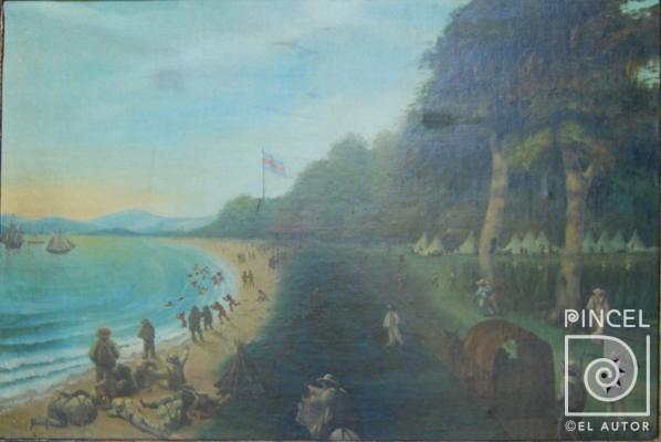 Lorenzo Fortino Campamento La Angostura-1860
