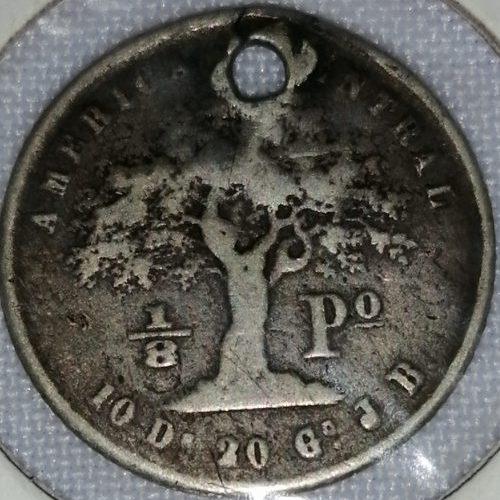 Moneda de los Estados Unidos de América, Plata, 10 centavos de Dólar, 1854