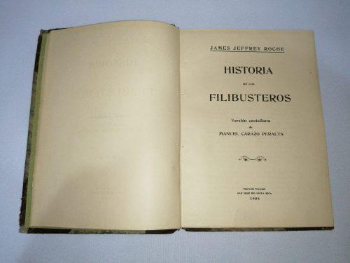 Historia de los Filibusteros, James Jeffrey Roche, 1908