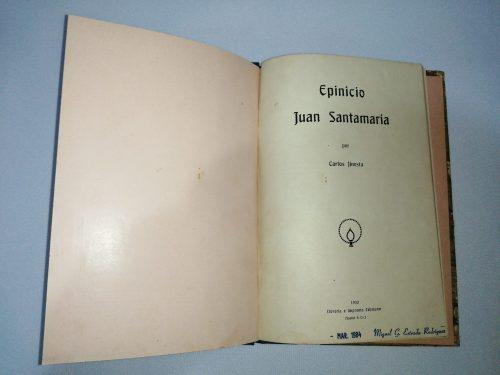 Epinicio Juan Santamaría, Carlos Jinesta, 1932