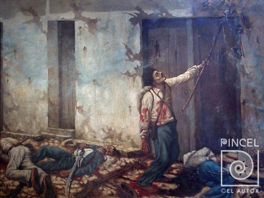 Quema del mesón-Enrique Echandi