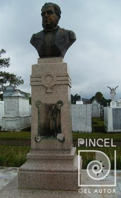 Busto Juan Rafael Mora- Juan Ramon Bonilla