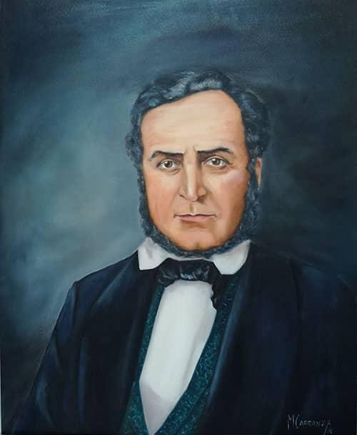 Carranza, Manuel Retrato de D. Juan Rafael Mora Óleo sobre lienzo de 0,76 m x 0,61 m 2019