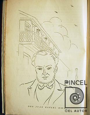 Don Juan Rafael Mora por Juan Manuel Sanchez