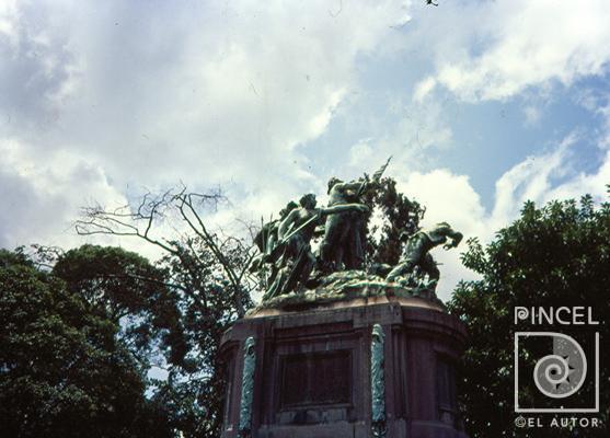 Fotografía Monumento Nacional por Louis Carrier Belleuse