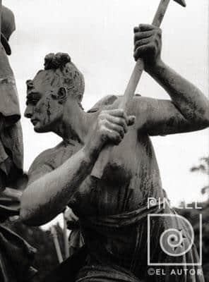 Monumento Nacional por Louis Carrier Belleuse