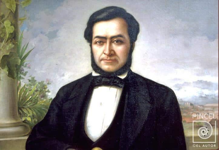 Juan Rafael Mora por Tomás Povedano